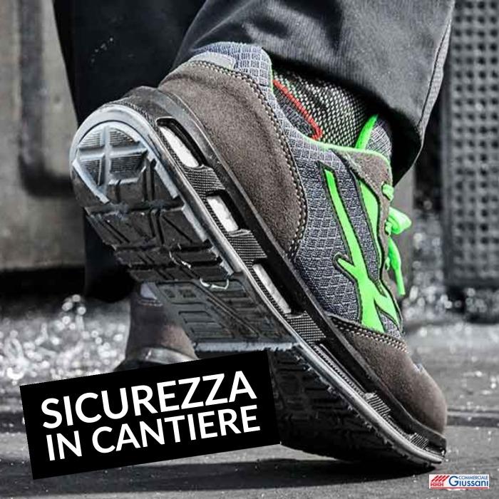 Abbigliamento sicurezza in cantiere scarpe anti infortunistica
