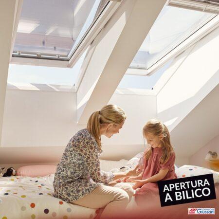 Finestre tetto apertura a bilico 3 giussani barlassina cormano
