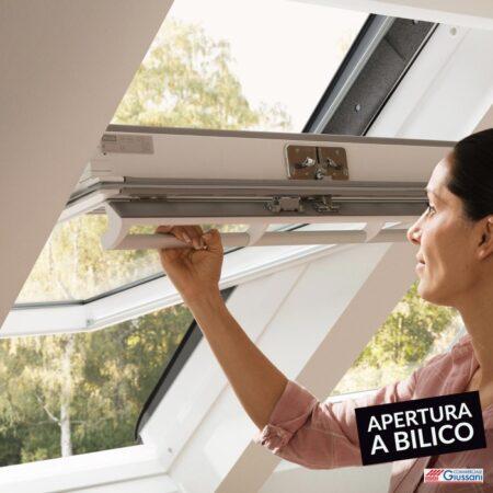 Finestre tetto apertura a bilico giussani barlassina cormano