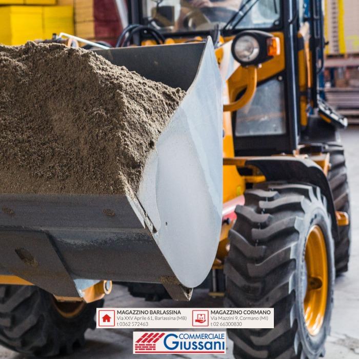 Giussani magazzini materiale edile cormano barlassina carico materiali
