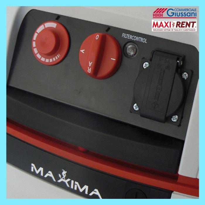 Noleggio aspiratore professionale aspiramax 1200 pannello