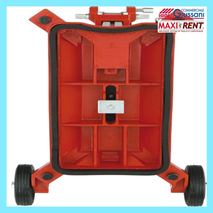 Noleggio carotatore ad acqua caromax 250 fondo carrello