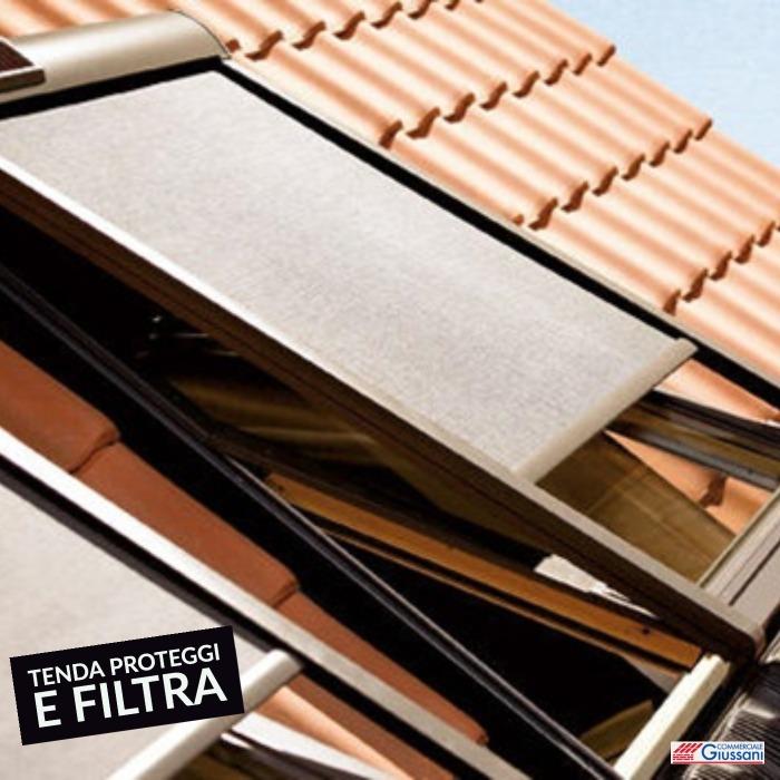 Tenda proteggi e filtra esterna tetto