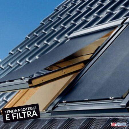 Tenda proteggi e filtra esterno scura